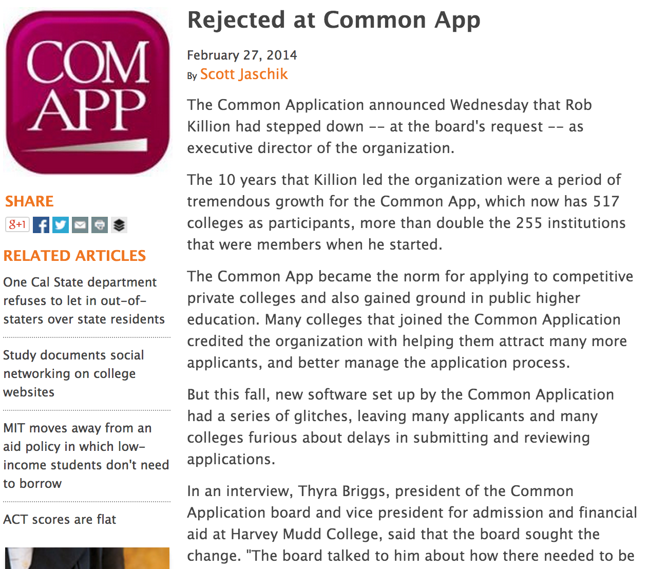 college board common application essays
