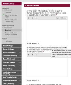 scholarship application essay template